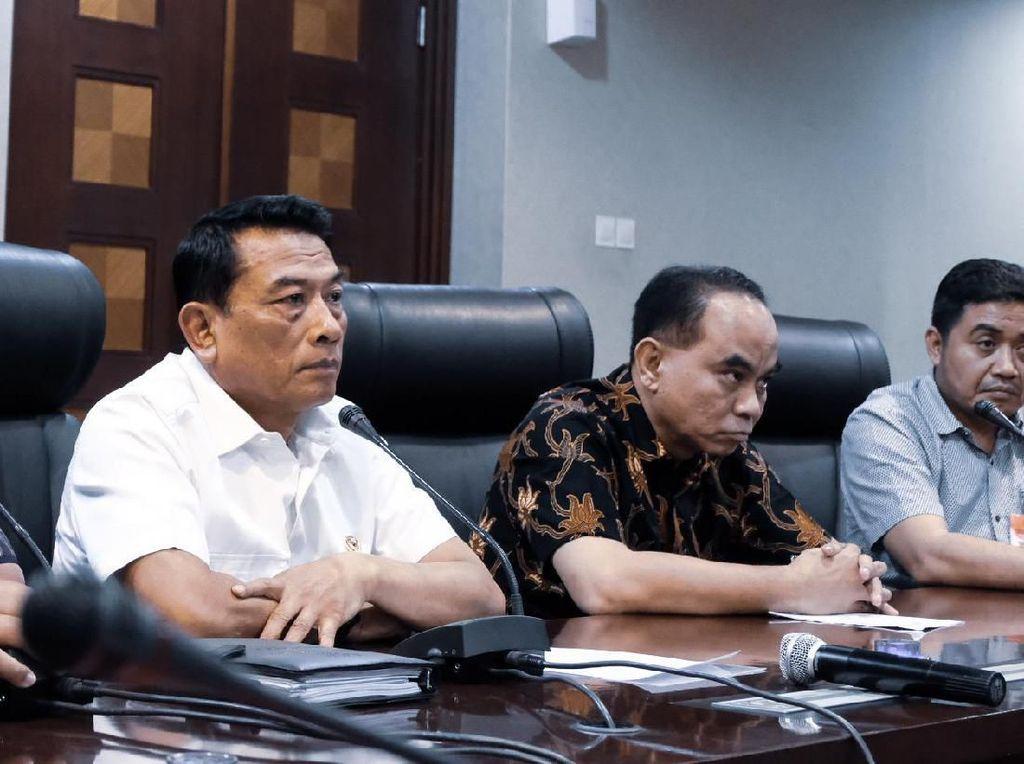 Moeldoko Minta Relawan Tak Gelar Karnaval Saat Pelantikan Jokowi
