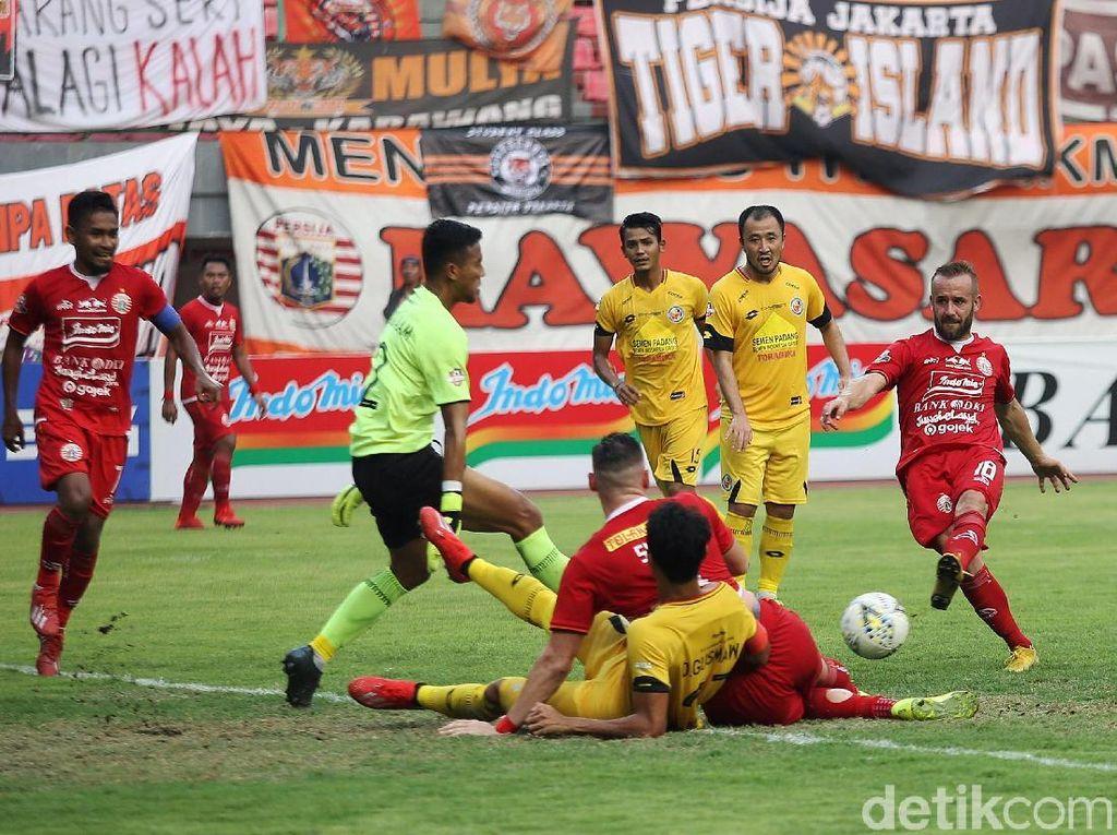 Persija Jakarta Sudah 12 Tahun Tak Menang di Stadion H Agus Salim