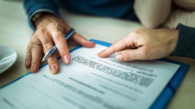ilustrasi dokumen sertifikat