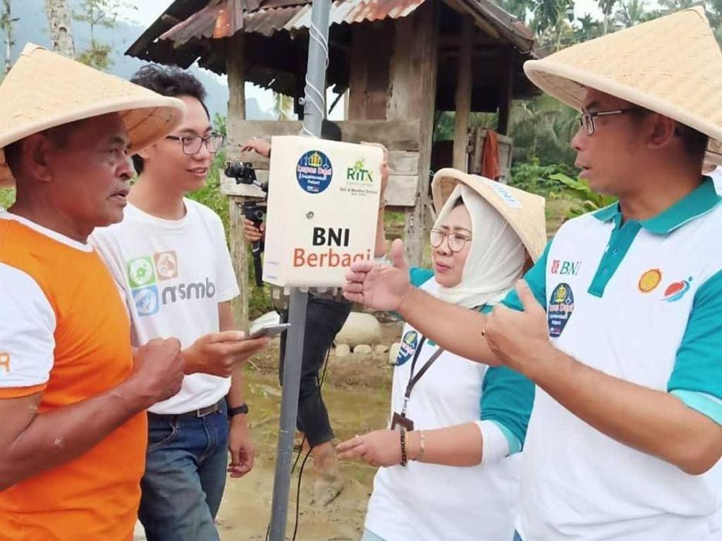Smartfarming, Gerakan Pertanian 4.0 BNI Kini Menyentuh Pasaman Barat