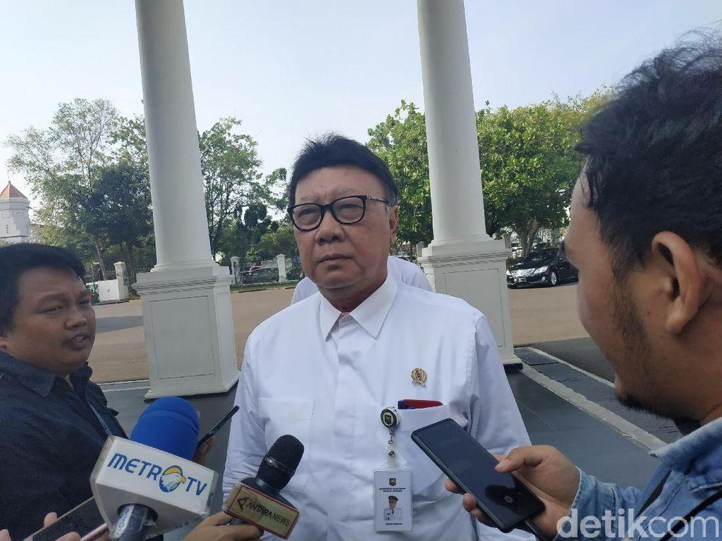 Mendagri Bahas 3 Sekda dengan Jokowi, Ada Apa?
