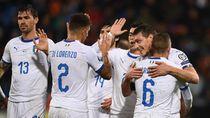 Video Kemenangan ke-8 Gli Azzurri, Lumat Liechtenstein 5-0