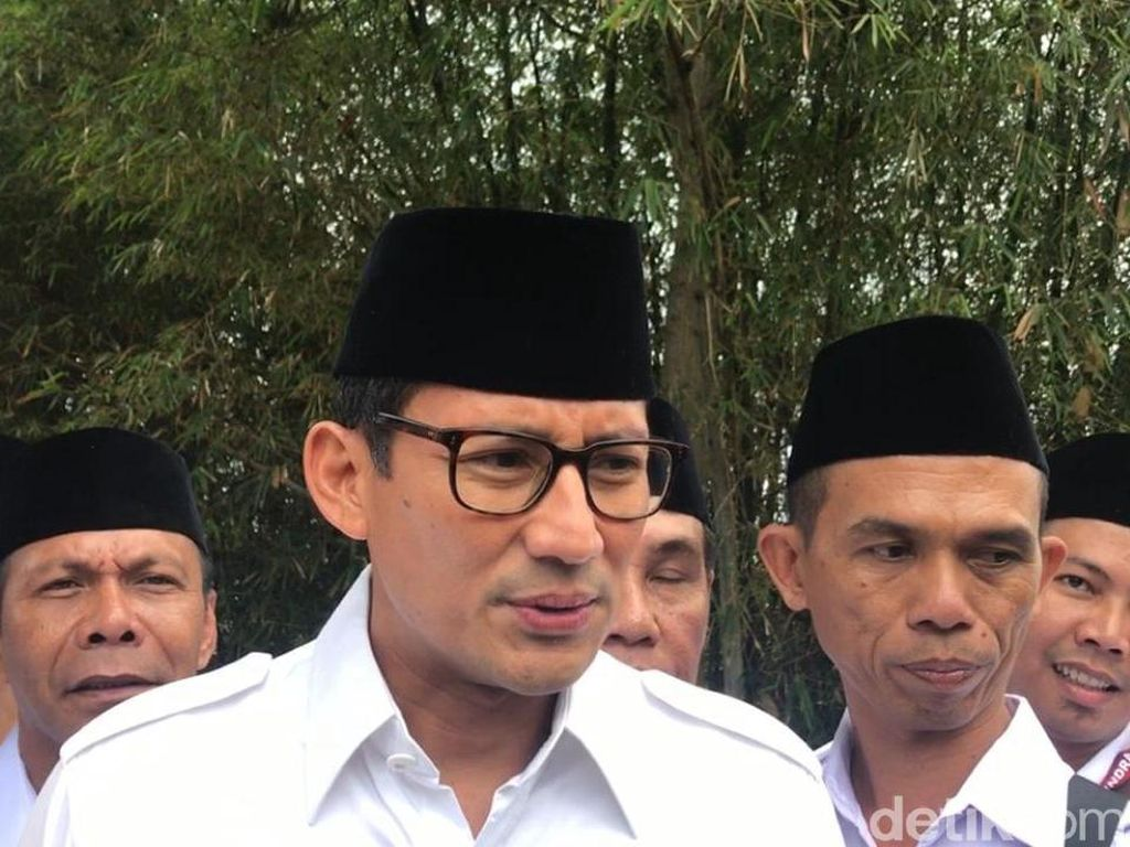 Soal Kabinet, Sandiaga: Gerindra Tak Mau Bikin Puyeng Jokowi