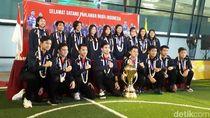Bawa Gelar Juara Dunia, Tim Bulutangkis Junior Tiba di Tanah Air