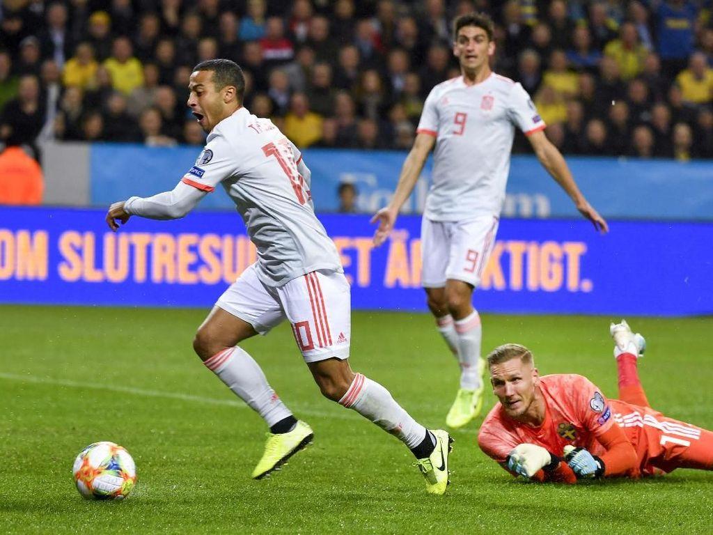 Spanyol, Negara Keenam yang Lolos ke Piala Eropa 2020
