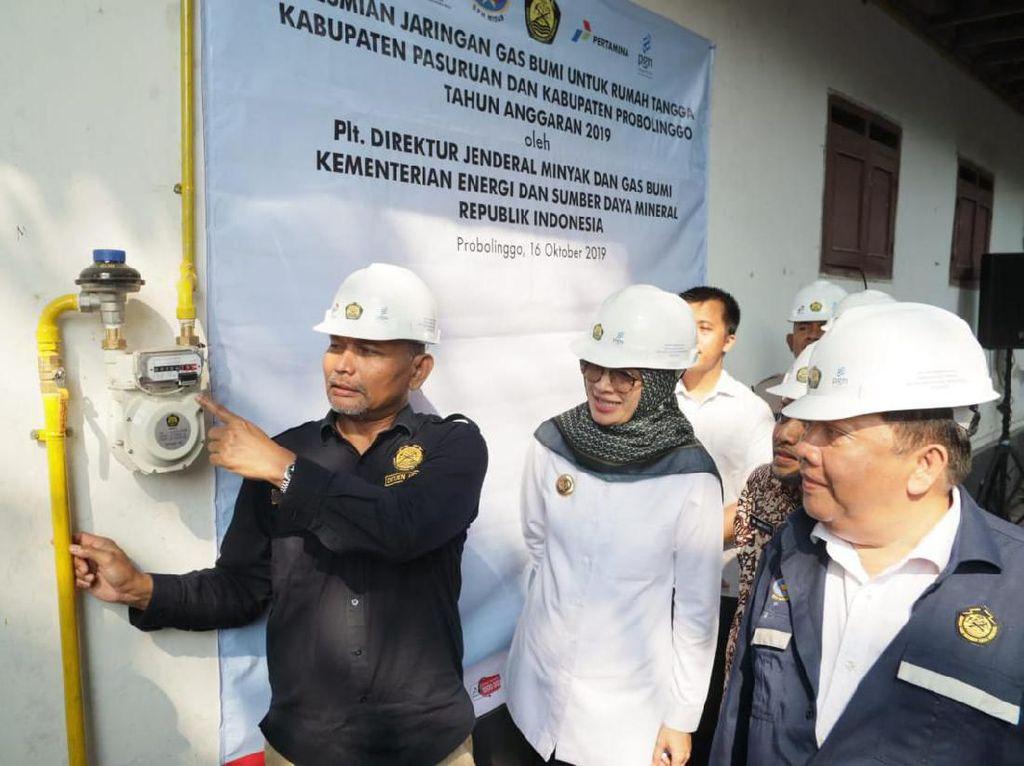 8.150 Rumah Tangga di Probolinggo-Pasuruan Tersambung Jargas PGN