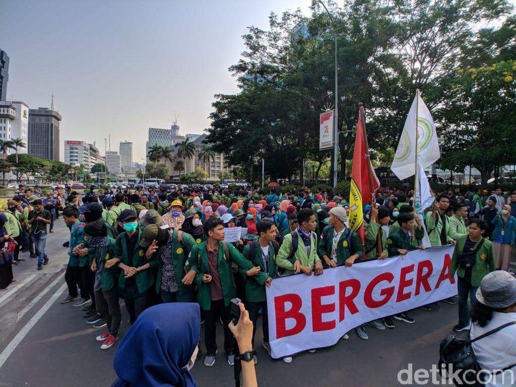 Tuntut Perppu KPK, Mahasiswa Akan Long March dari Dukuh Atas ke Istana