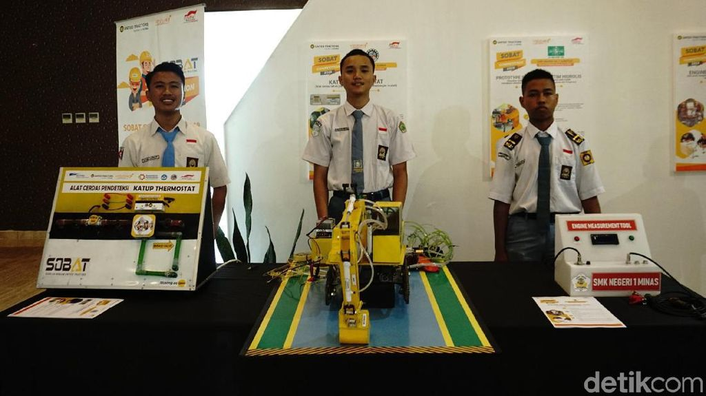 Kompetisi SOBAT Sekolah Binaan United Tractors