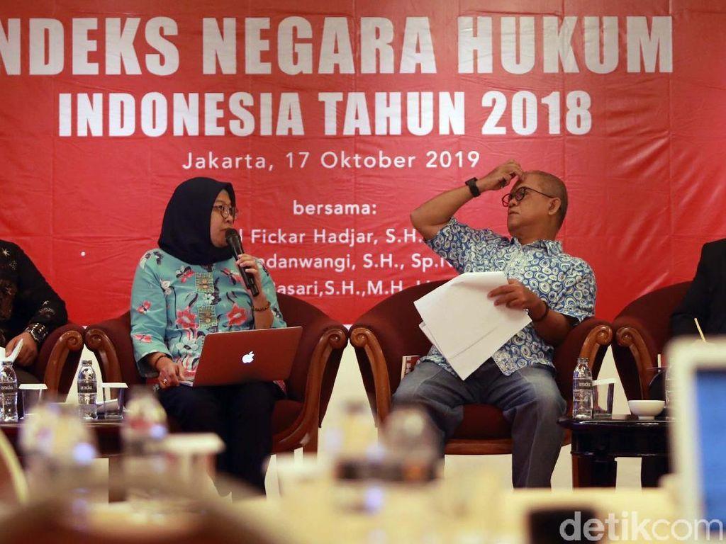 Indeks Negara Hukum Indonesia Turun 0,006