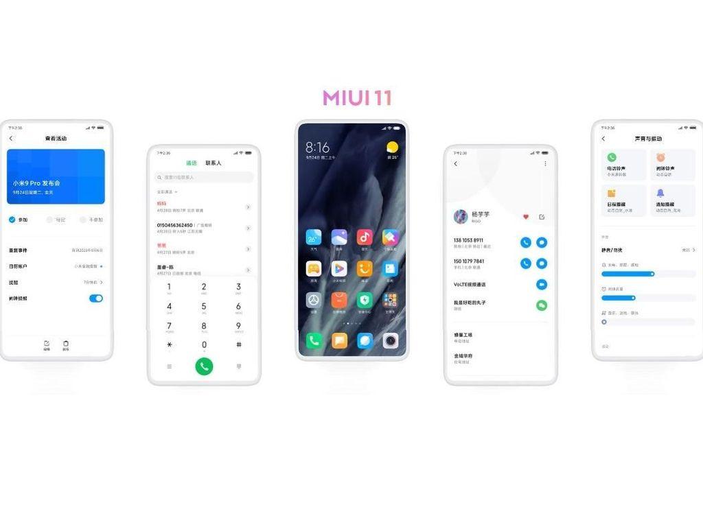 Xiaomi Mulai Kirim MIUI 11, Ini Daftar Perangkat yang Mencicipinya