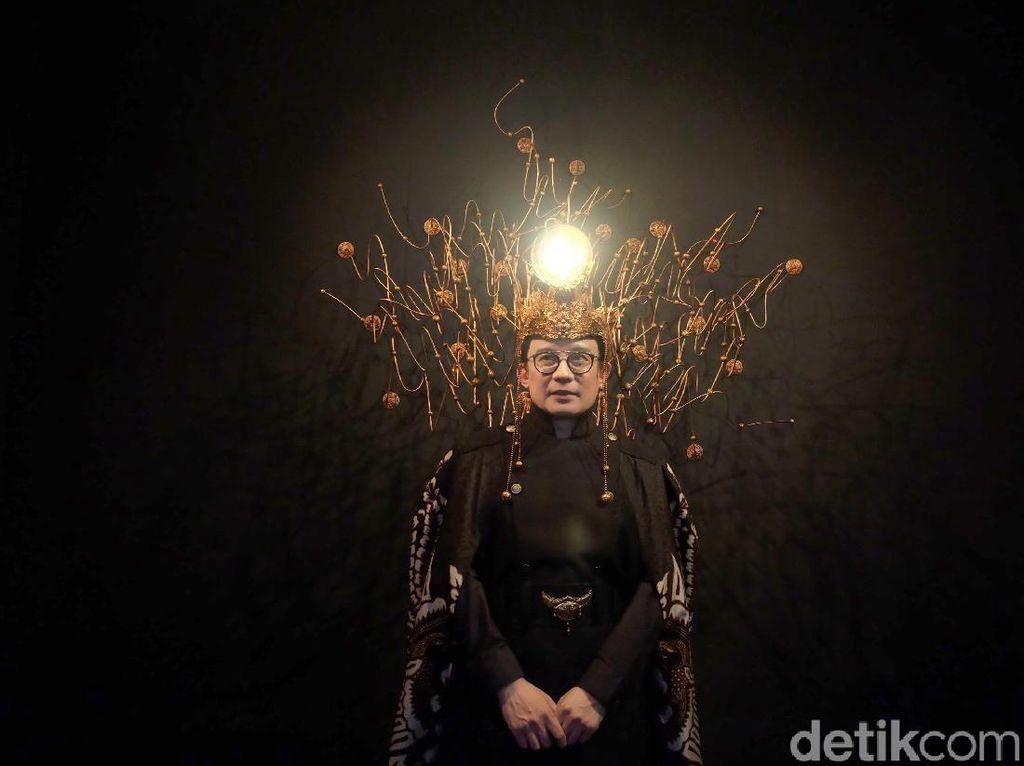 Rinaldy Yunardi Bikin Instalasi Headpiece di ICAD 2019, Tertarik Nyoba?
