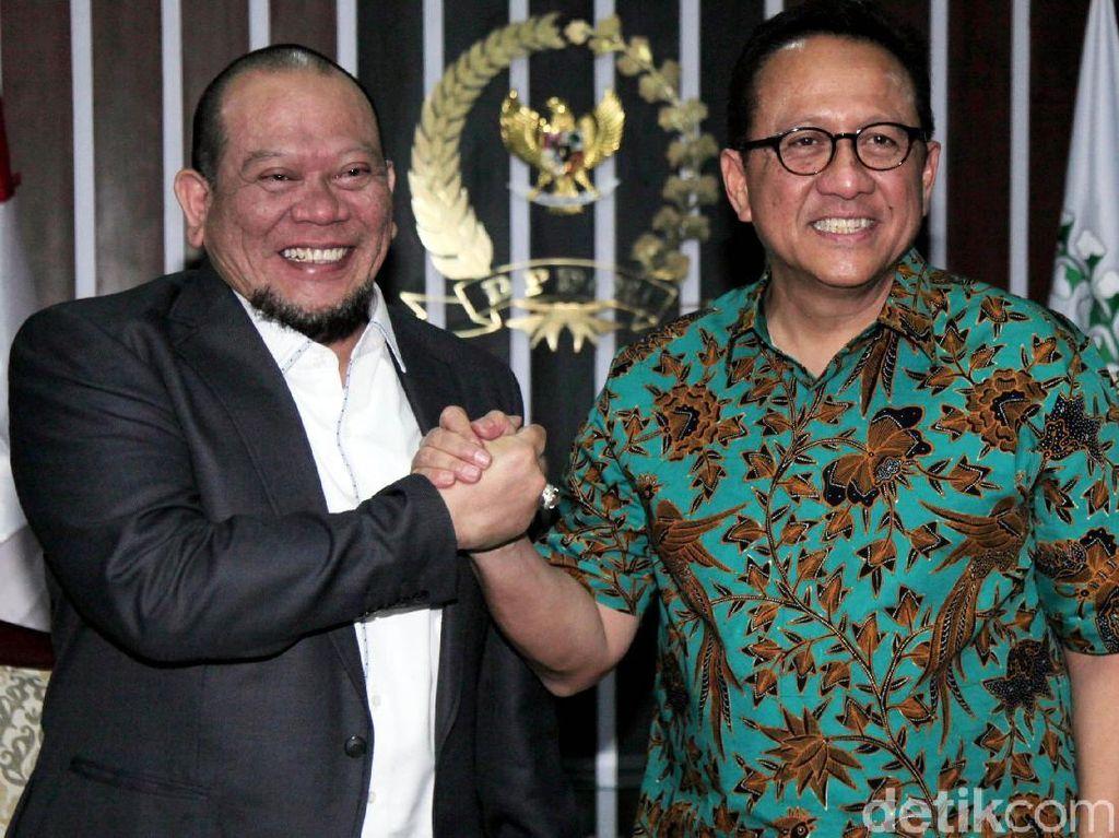 Eks Ketua DPD RI Irman Gusman Bertemu La Nyalla Mattalitti