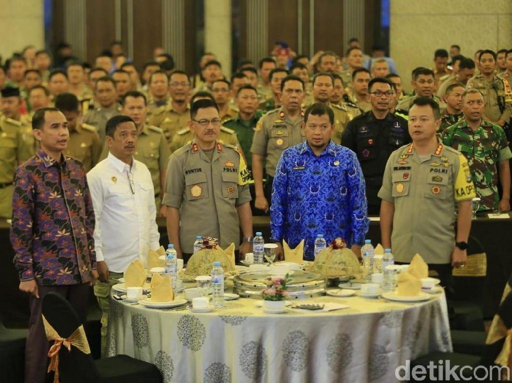 Pemkot Makassar dan TNI-Polri Siap Jaga Keamanan Saat Pelantikan Presiden
