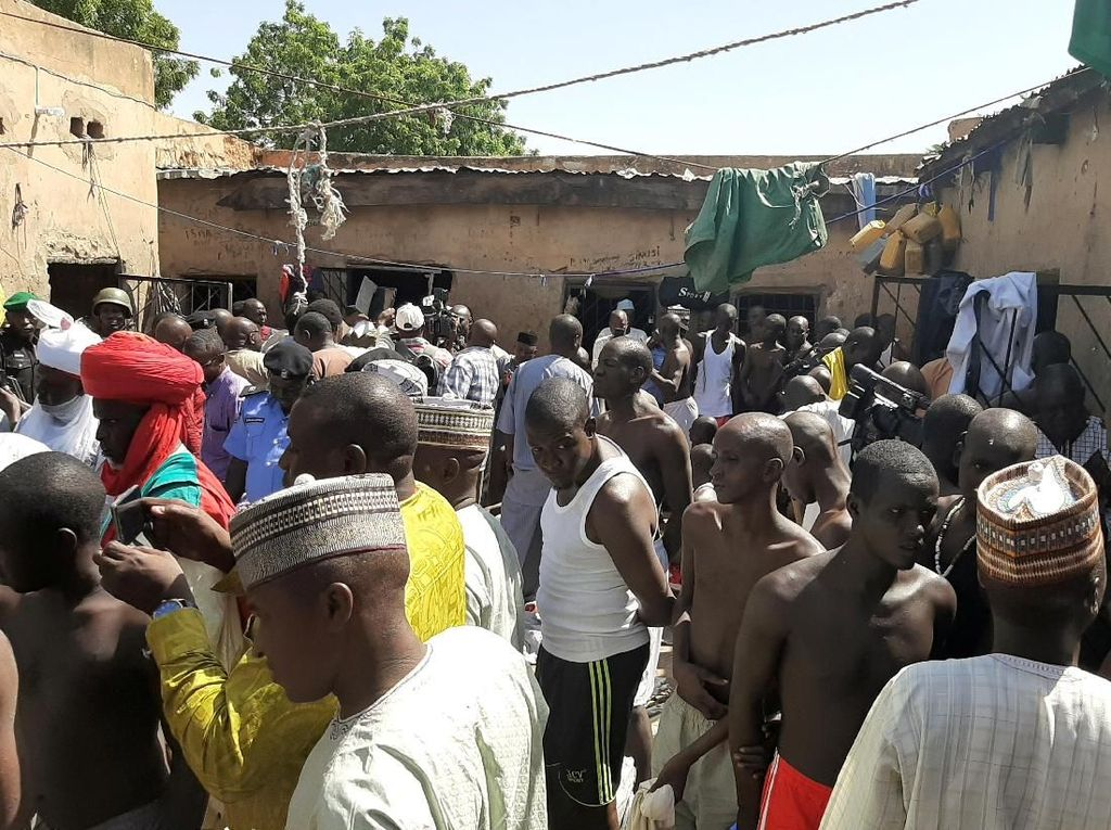 Polisi Selamatkan 500 Anak-anak Korban Kekerasan di Nigeria