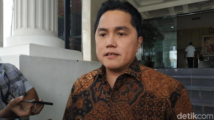 Erick Thohir (Andhika/detikcom)