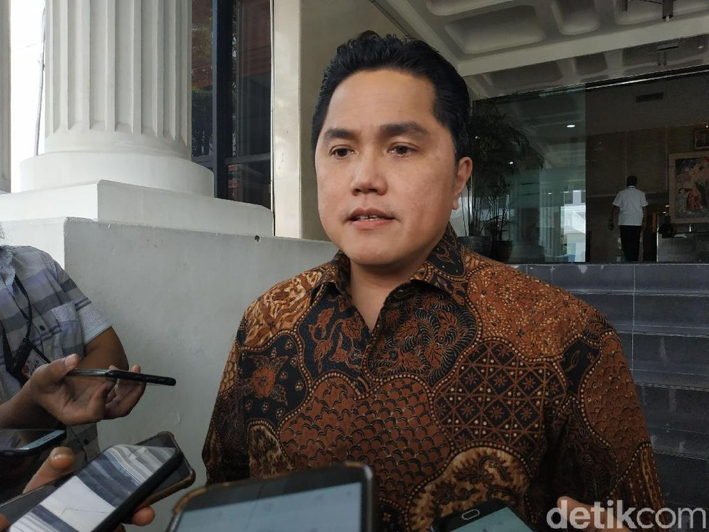 Bakal Jadi Menteri, Erick Thohir: Harus Berhenti Total