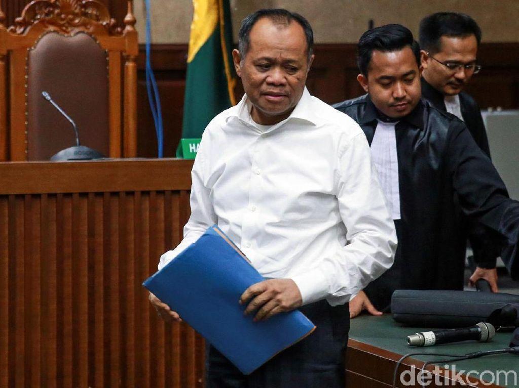 Eksepsi Ditolak Hakim, Begini Ekspresi Habil Marati
