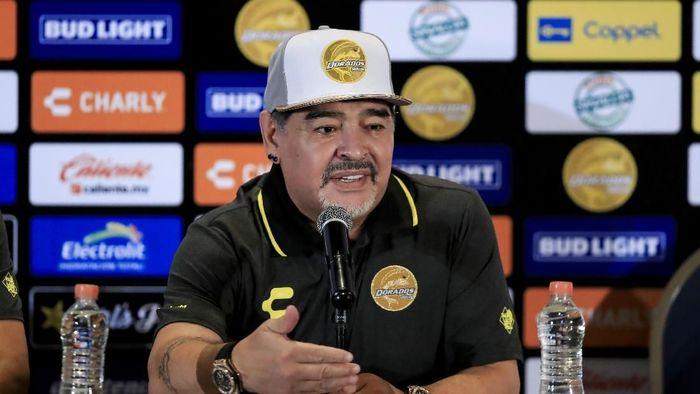 Diego Maradona mundur sebagai pelatih Gimnasia La Plata (Getty Images)