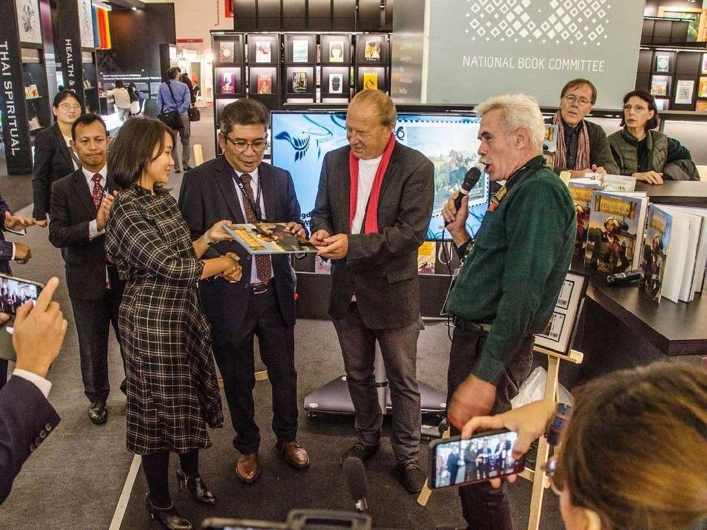 Komik Raden Saleh Diluncurkan di Frankfurt Book Fair 2019