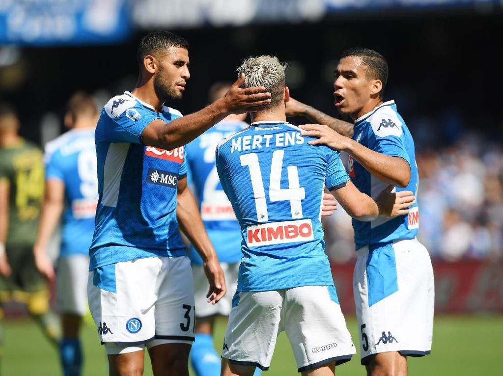 Salzburg Bisa Bikin Tiga Gol di Anfield, Napoli Waspada Penuh