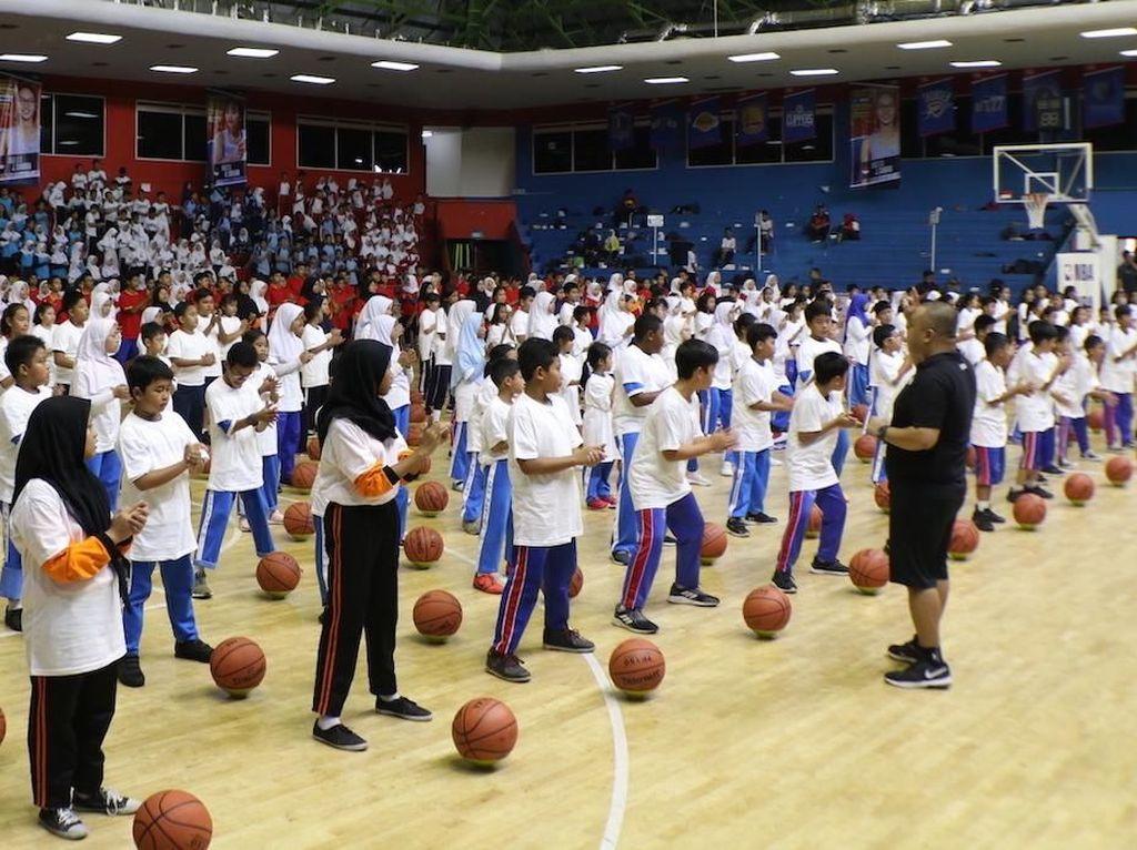 Lewat Kurikulum Basket di Sekolah, NBA Ingin Tularkan Gaya Hidup Sehat