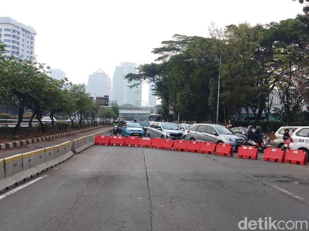 Lalu Lintas di Sekitar DPR Dialihkan, Berlaku Hingga Hari Pelantikan Jokowi