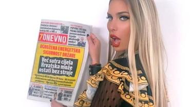 Eks Model Playboy Ini Ingin Jadi Presiden Kroasia