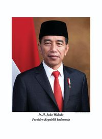 Ini Foto Resmi Jokowi dan Ma'ruf Sebagai Presiden-Wapres