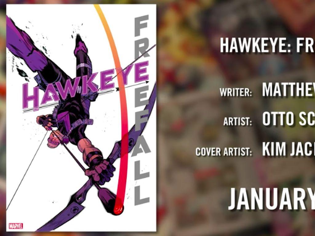 Ada Ronin Terbaru di Komik Hawkeye!