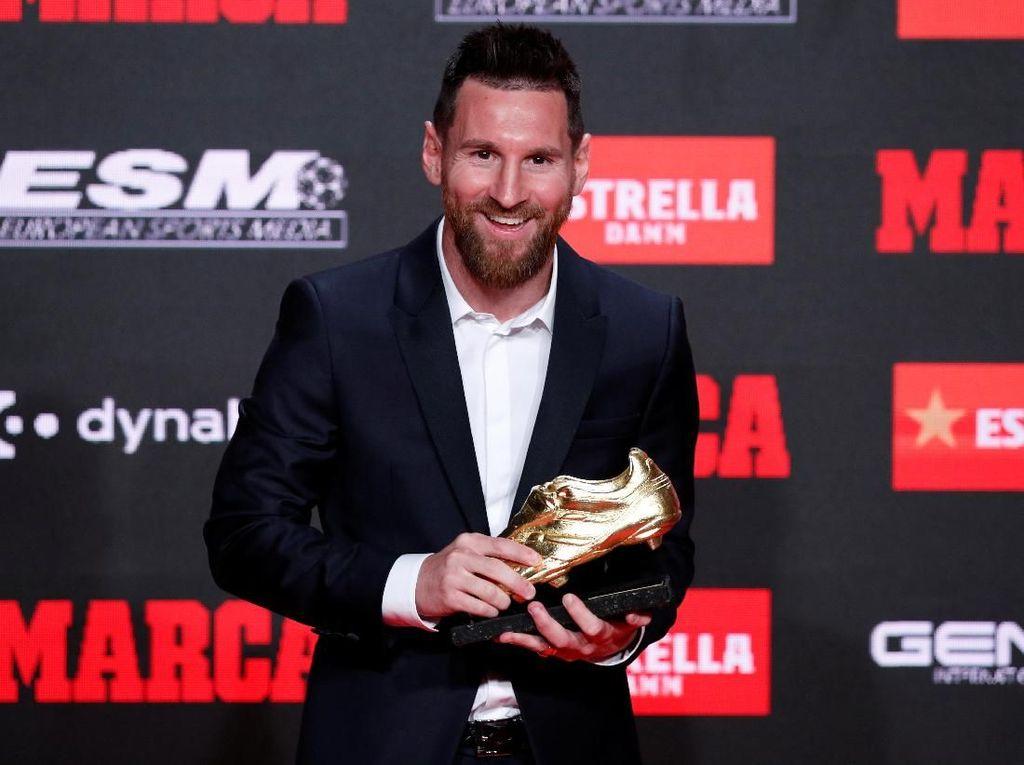 Ini Sepatu Emas Keenammu, Messi
