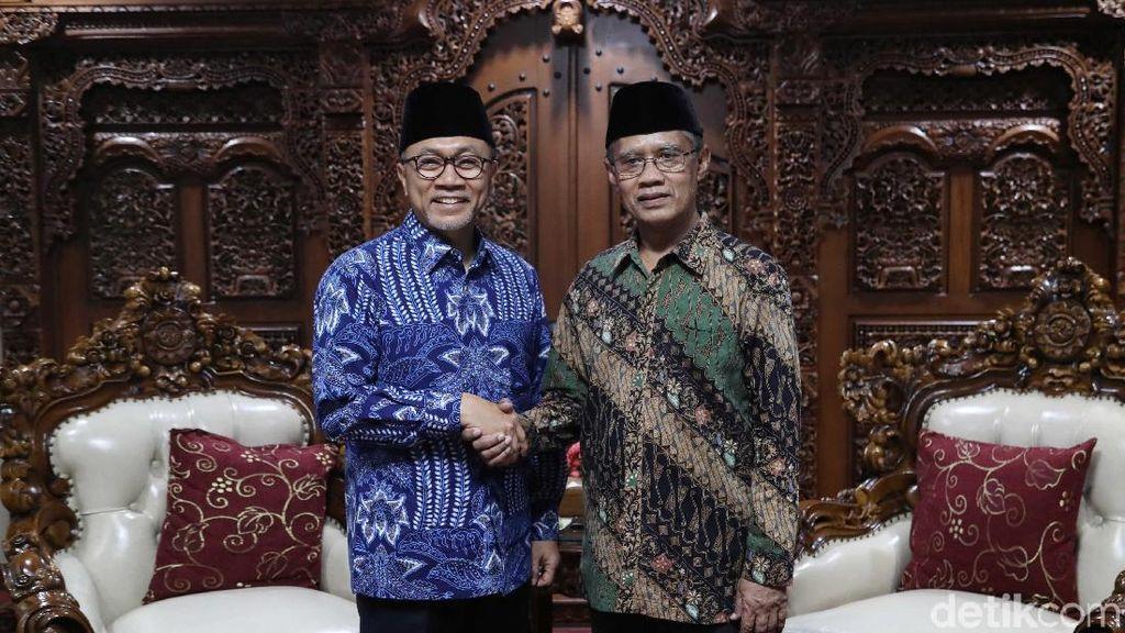 Silaturahmi Zulkifli Hasan dan Ketum Muhammadiyah