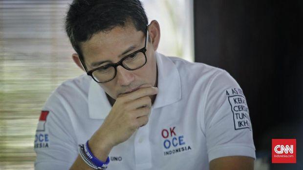 Sandiaga Uno digadang-gadang bisa menang di Pilpres 2024 oleh Jokowi dan Budi Gunawan.