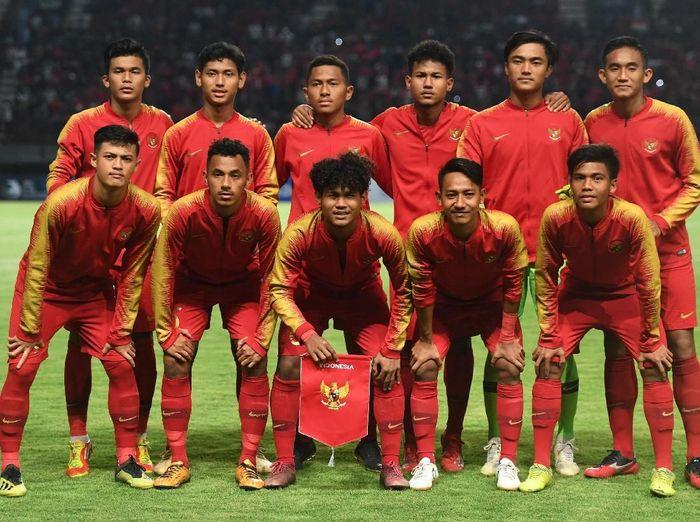 Timnas Indonesia U-19 menang 3-1 atas Timnas China U-19 dalam laga persahabatan. (Foto: Zabur Karuru/ANTARA FOTO)