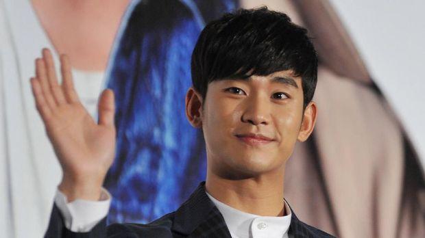 South Korean actor Kim Soo-Hyun attends his