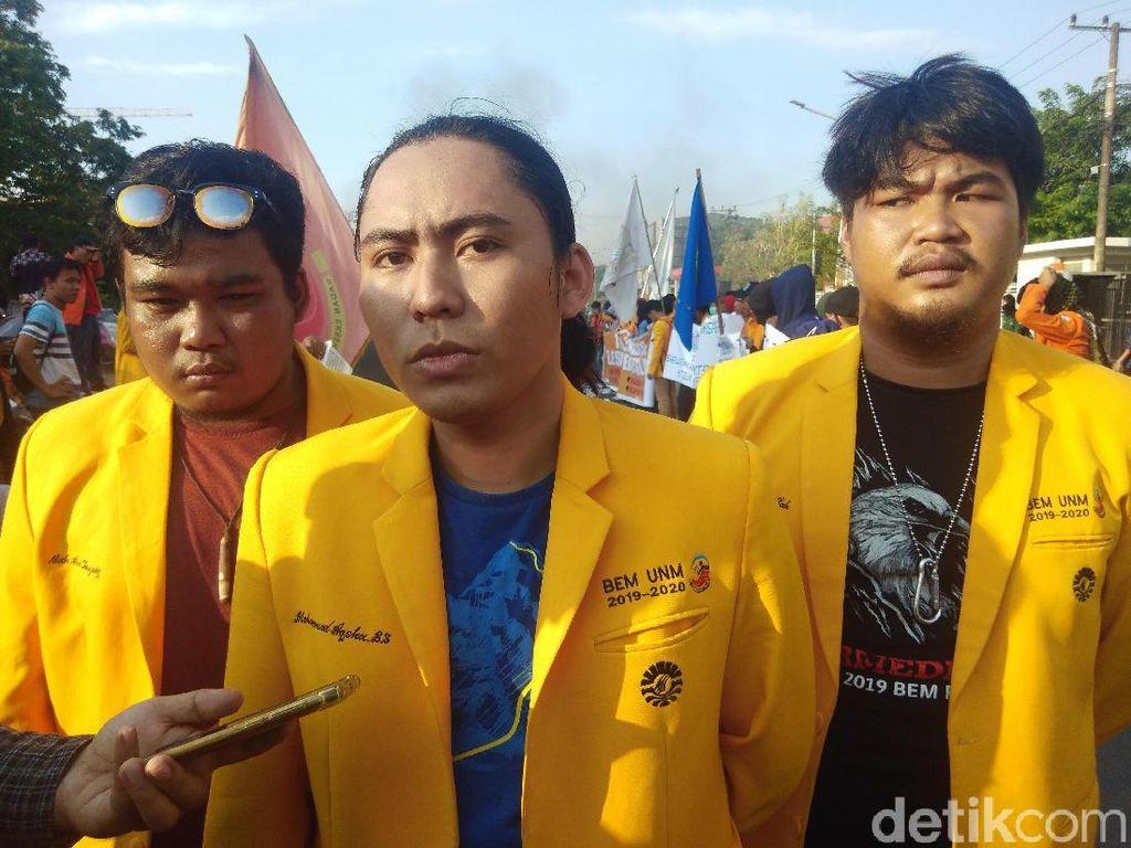 Demo di Pettarani Bubar, Mahasiswa Makassar Siap Turun ke Jalan 20 Oktober