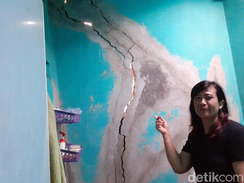 Rumah Warga Padalarang Rusak Akibat Bom Proyek Kereta Cepat Dikaji