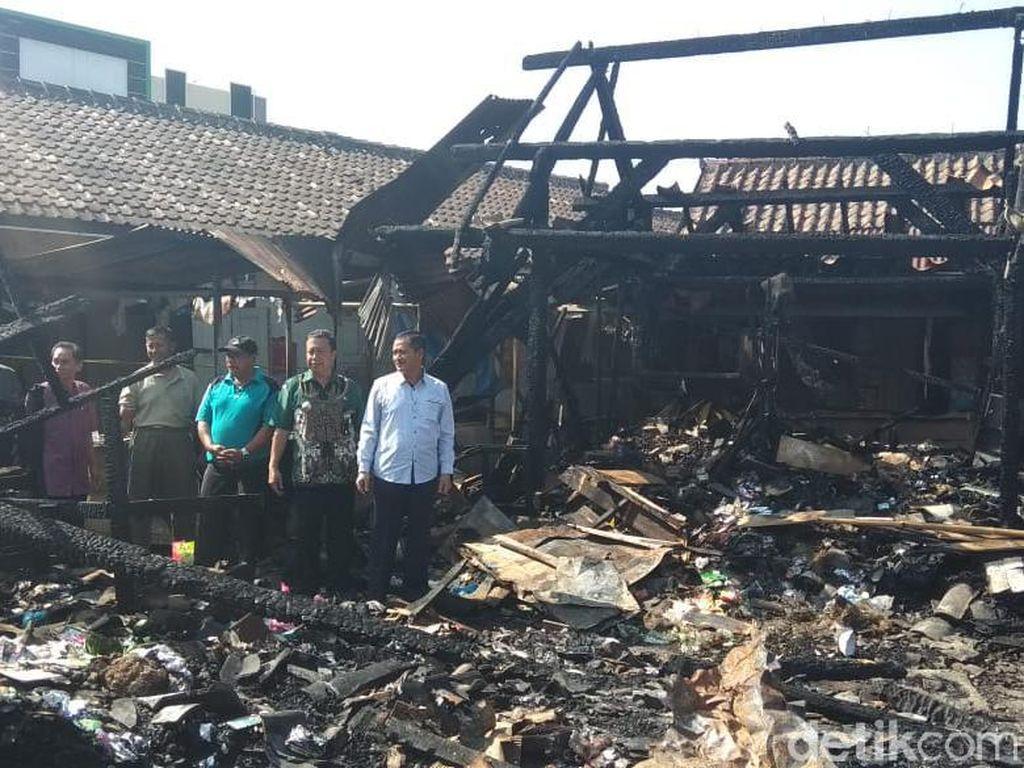 Pemkab Segera Bangun Lokasi Darurat untuk Pedagang Pasar Mungkid