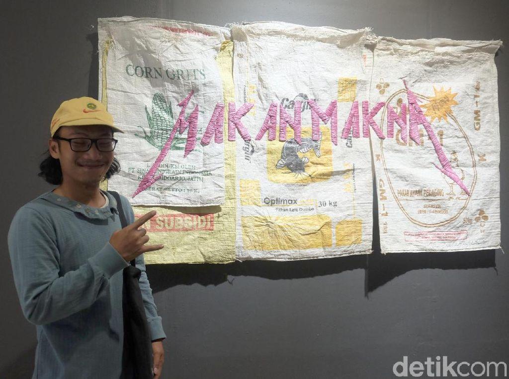 Eat Pray Love Karya Seniman Surabaya Sentil Isu Pangan Indonesia