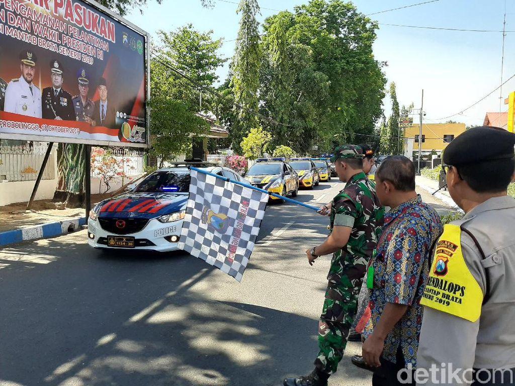 700 Personel Gabungan di Kota Probolinggo Siap Amankan Pelantikan Jokowi