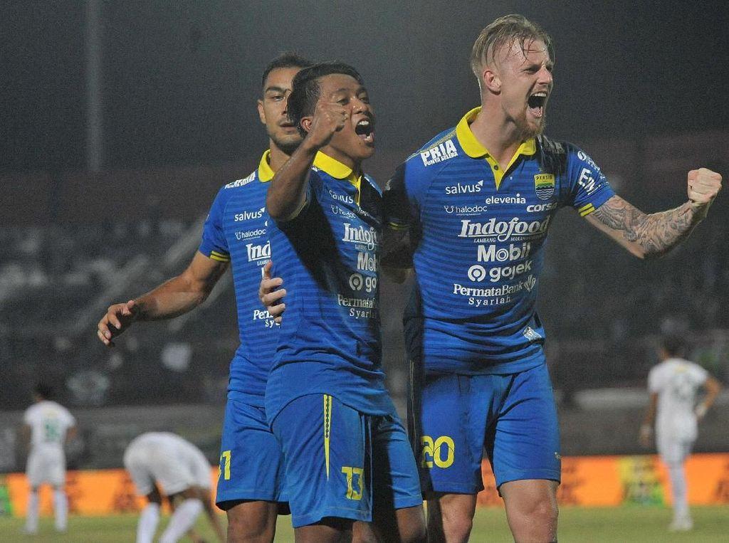 Persib Vs Persebaya: Maung Bandung Lumat Bajul Ijo 4-1