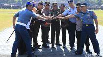 1.700 Personel Gabungan Jaga Jatim Kondusif Jelang Pelantikan Presiden
