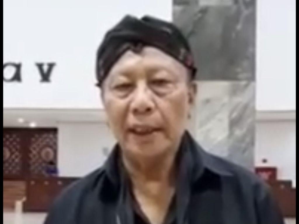 Viral Video Ritual Amankan Pelantikan Jokowi, MPR: Pamdal Tak Libatkan Dukun