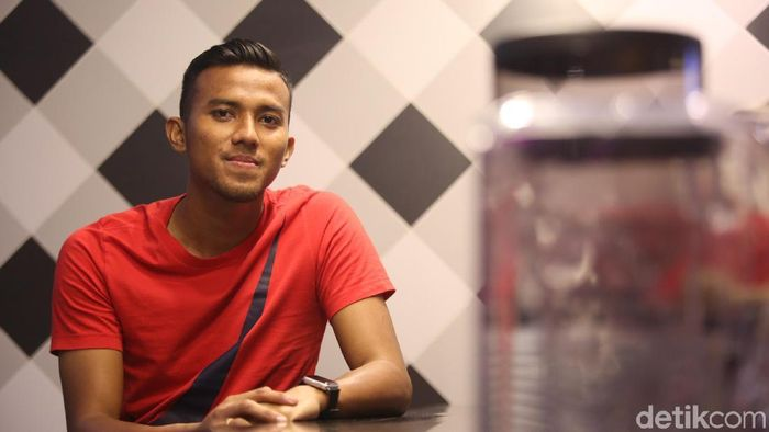 Teja Paku Alam, kiper Semen Padang  (Agung Pambudhy/detikSport)
