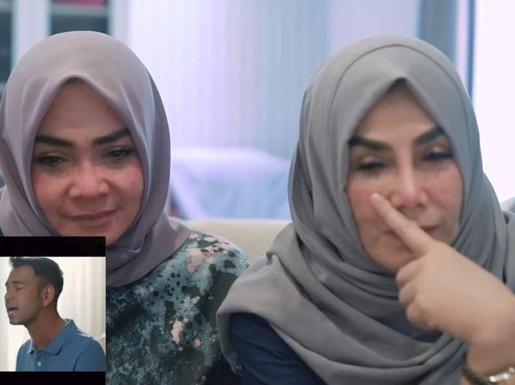 Mama Rieta Berderai Air Mata Dengar Lagu Raffi untuk Nagita