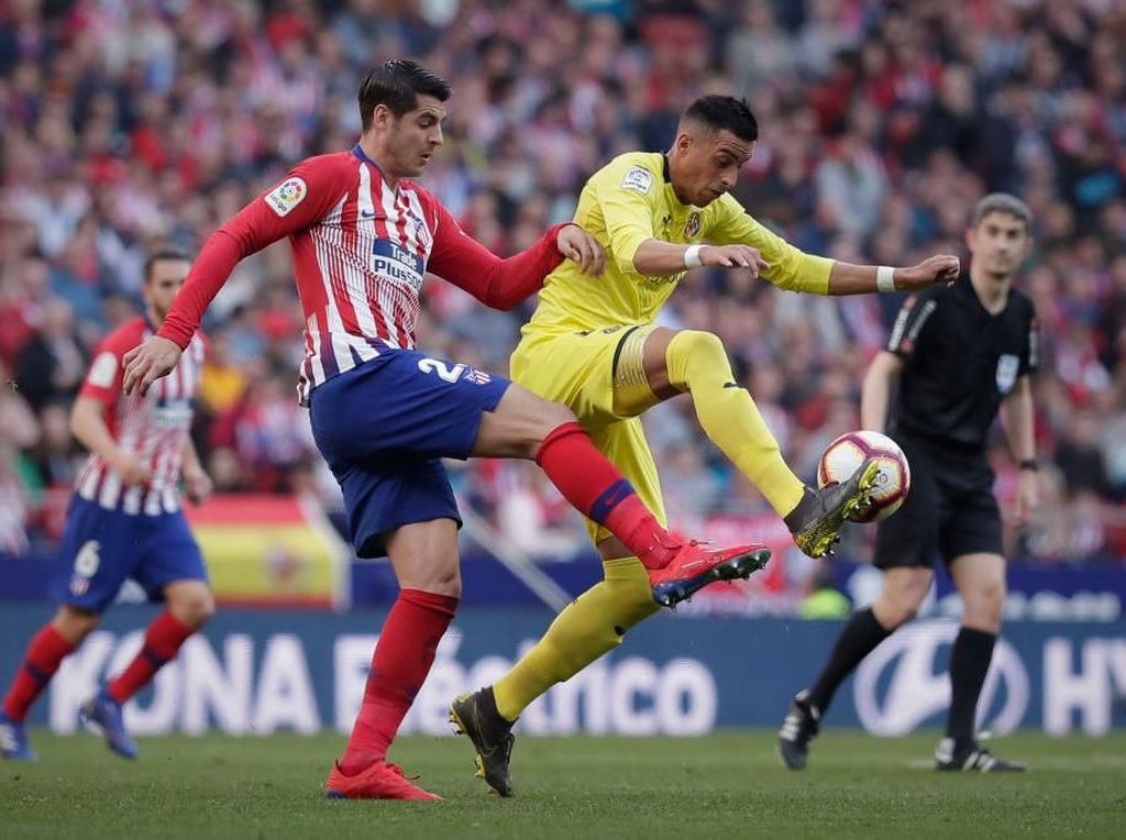 RFEF Tak Setuju Villarreal Vs Atletico Digelar di AS