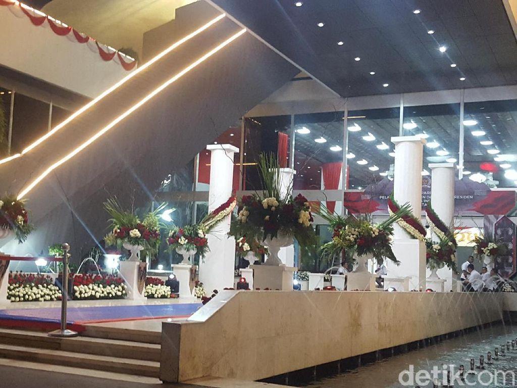 Paspampres Sterilkan Gedung Nusantara Jelang Pelantikan Presiden