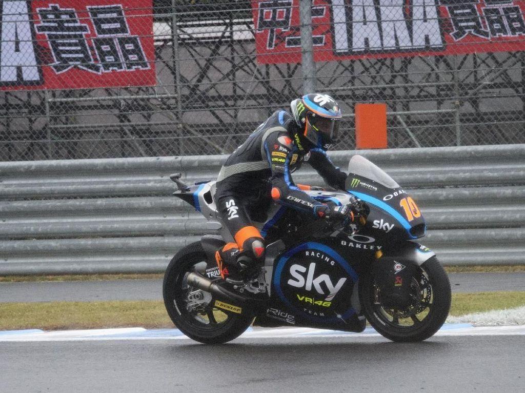 Vinales Selamatkan Adik Rossi di Kualifikasi Moto2 Jepang