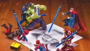 Kocak, Begini Kehidupan Sehari-hari Para Superhero