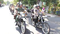 TNI Polri di Tuban Patroli Besar Jelang Pelantikan Presiden