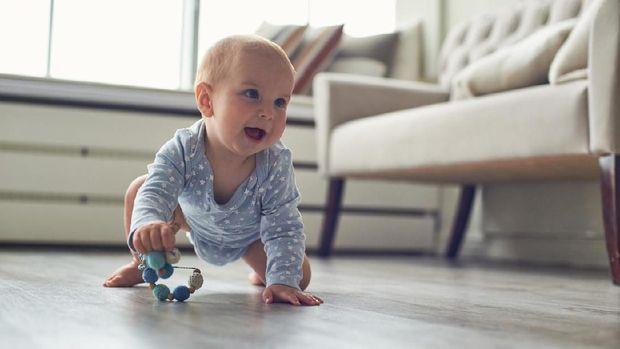 Ilustrasi bayi sehat